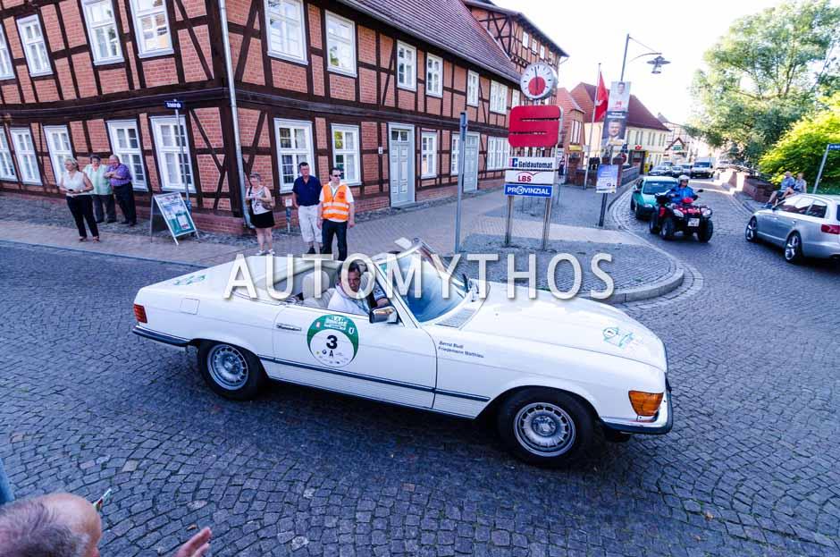 Automythos | 9. Hamburg Berlin Klassik 2016 | 3 | Friedemann Matthieu & Bernd Budi | Mercedes-Benz 280 SL