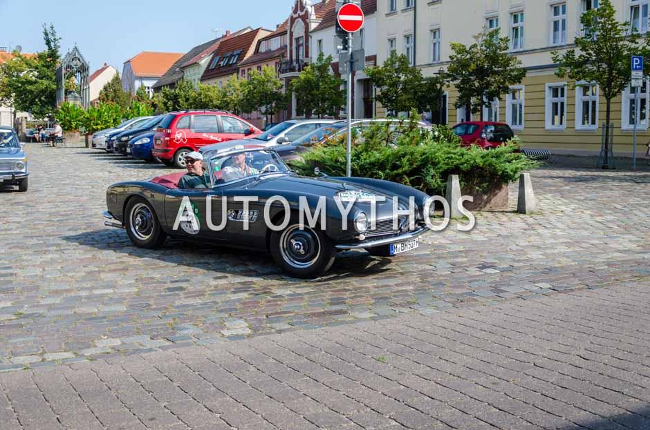 Automythos | 9. Hamburg Berlin Klassik 2016 | 12 | Dr. Hans H. Hamer & Boris Rogosch | BMW 507