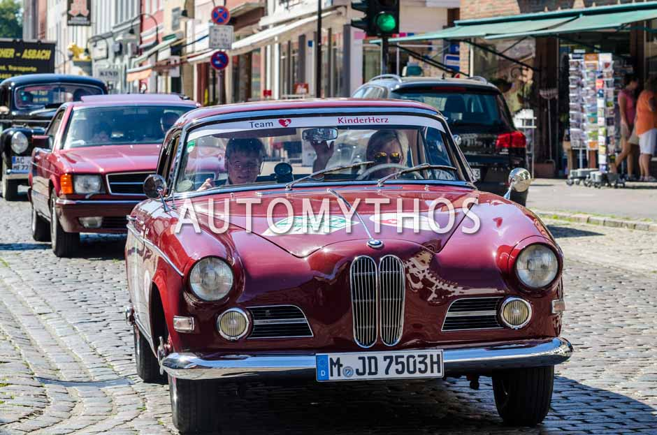 Automythos | 9. Hamburg Berlin Klassik 2016 | 13 | Lili Reisenbichler & Dieter Schaub | BMW 503 Coupé