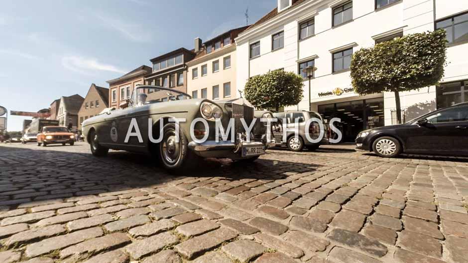 Automythos | 9. Hamburg Berlin Klassik 2016 | 15 | Jayson Fong & Christoph Gontard | Rolls-Royce Silver Cloud III Drophead Coupé Mulliner