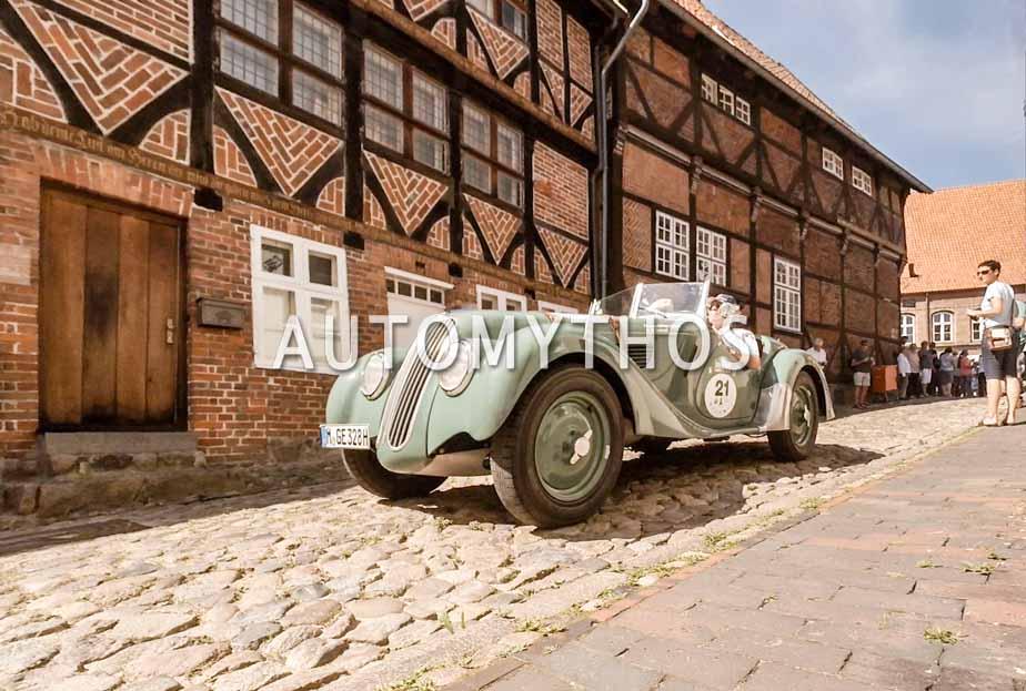 Automythos | 9. Hamburg Berlin Klassik 2016 | 21 | Leopold Prinz von Bayern & Werner Schaeppi | BMW 328