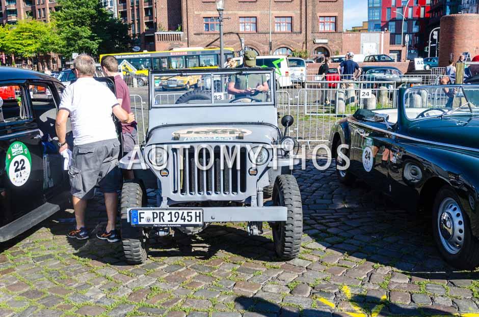 Automythos | 9. Hamburg Berlin Klassik 2016 | 23 | Oliver Willand & Dr. Stefan Lührs | Willys-Overland MB
