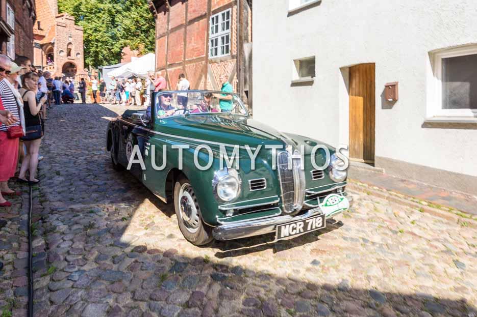 Automythos | 9. Hamburg Berlin Klassik 2016 | 24 | Gary Stephen Pusey & Graham Healy | Bristol 401 Farina Cabriolet