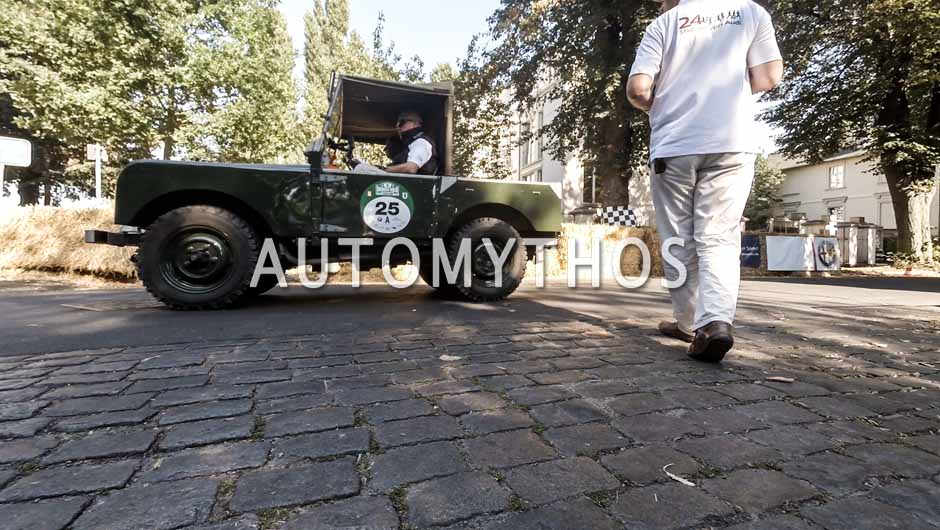 Automythos | 9. Hamburg Berlin Klassik 2016 | 25 | Lothar Zimmer & Peter Wünsch | Rover Land Rover Series 1 & Volvo Amazon