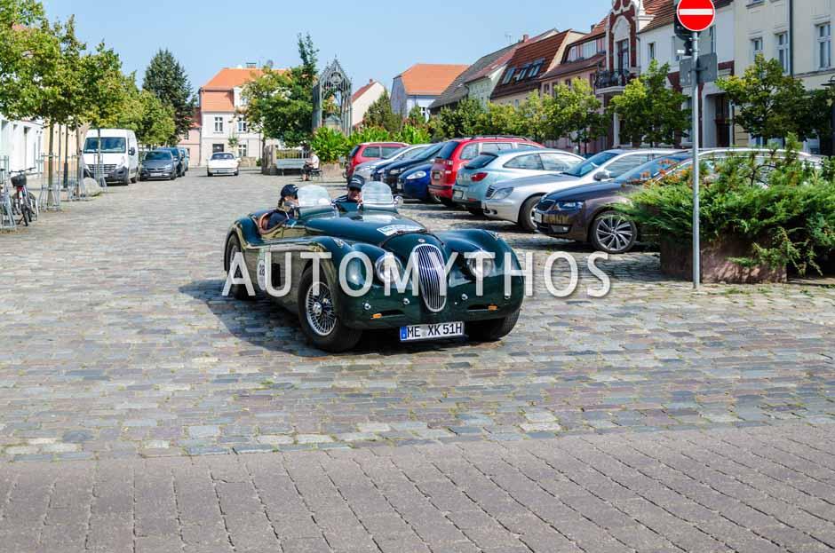 Automythos | 9. Hamburg Berlin Klassik 2016 | 28 | Dag Rogge & Liesa Rogge | Jaguar XK120