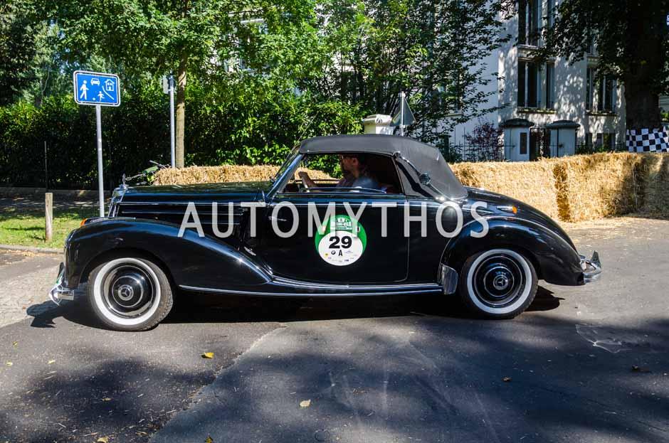 Automythos | 9. Hamburg Berlin Klassik 2016 | 29 | Christian Düllberg & Manfred Düllberg | Mercedes-Benz 220a Cabriolet