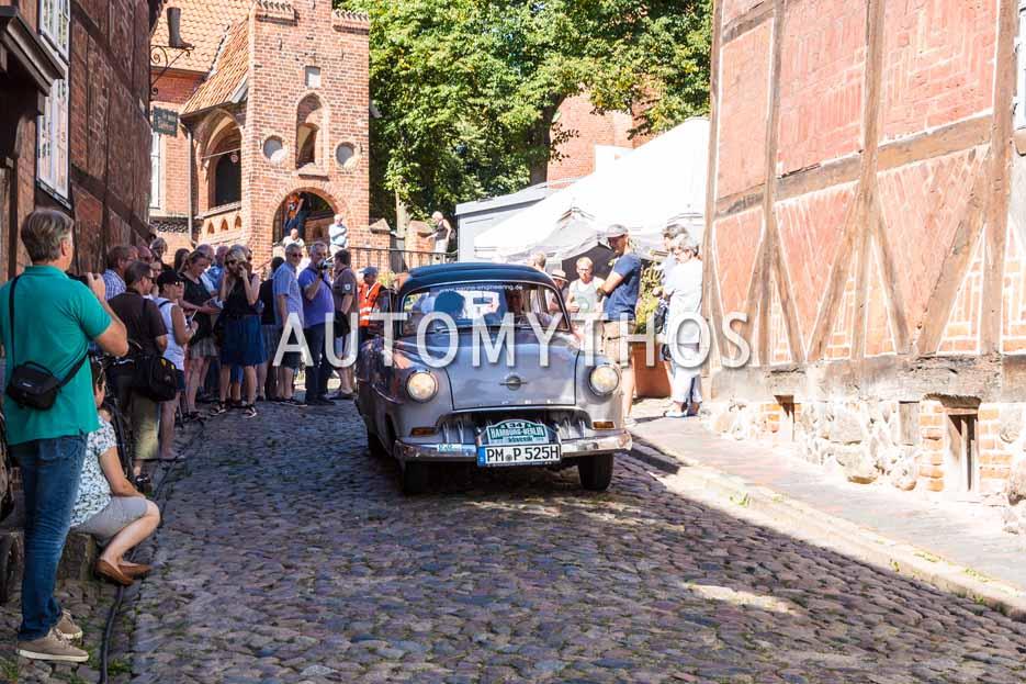 Automythos | 9. Hamburg Berlin Klassik 2016 | 34 | Dr. Axel Panne & Robert Panne | Opel Olympia Rekord