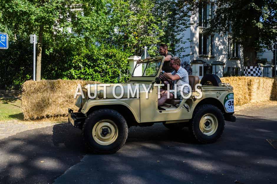 Automythos | 9. Hamburg Berlin Klassik 2016 | 35 | Mark Keller & Markus Hauf | Willys-Overland M38A1