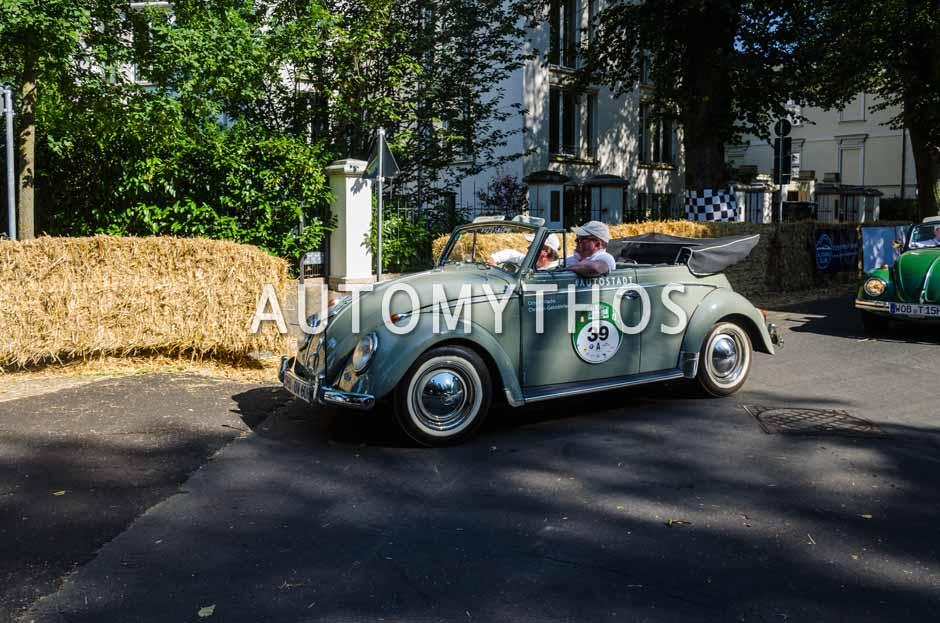 Automythos | 9. Hamburg Berlin Klassik 2016 | 39 | Otto Ferdinand Wachs & Christian Geistdörfer | Volkswagen 1200 Cabriolet