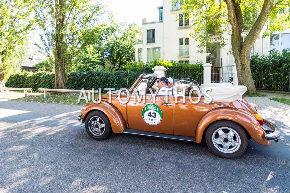 Automythos | 9. Hamburg Berlin Klassik 2016 | 43 | Thure Fekken & Alexandra Fekken | Volkswagen 1303 Cabriolet
