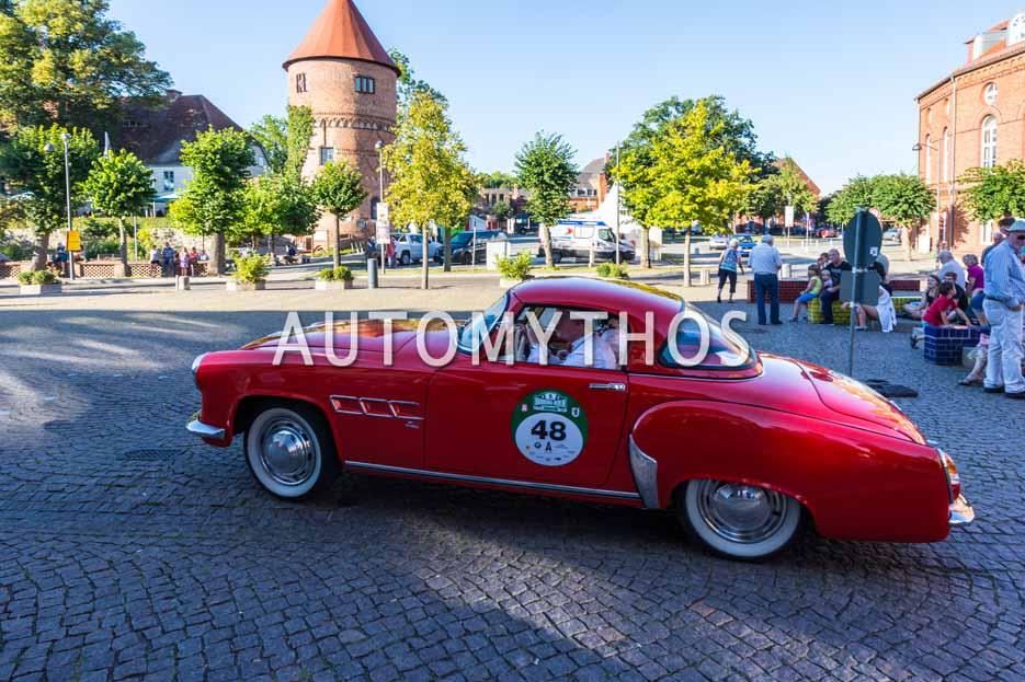 Automythos | 9. Hamburg Berlin Klassik 2016 | 48 | Volkmar Kruspig & Rita Kruspig | Wartburg 313 Sport Coupé