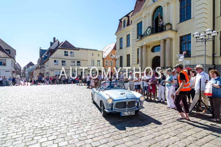 Automythos | 9. Hamburg Berlin Klassik 2016 | 51 | Jann Kleemeyer & Petra Kleemeyer | Fiat 1200 TV Trasformabile