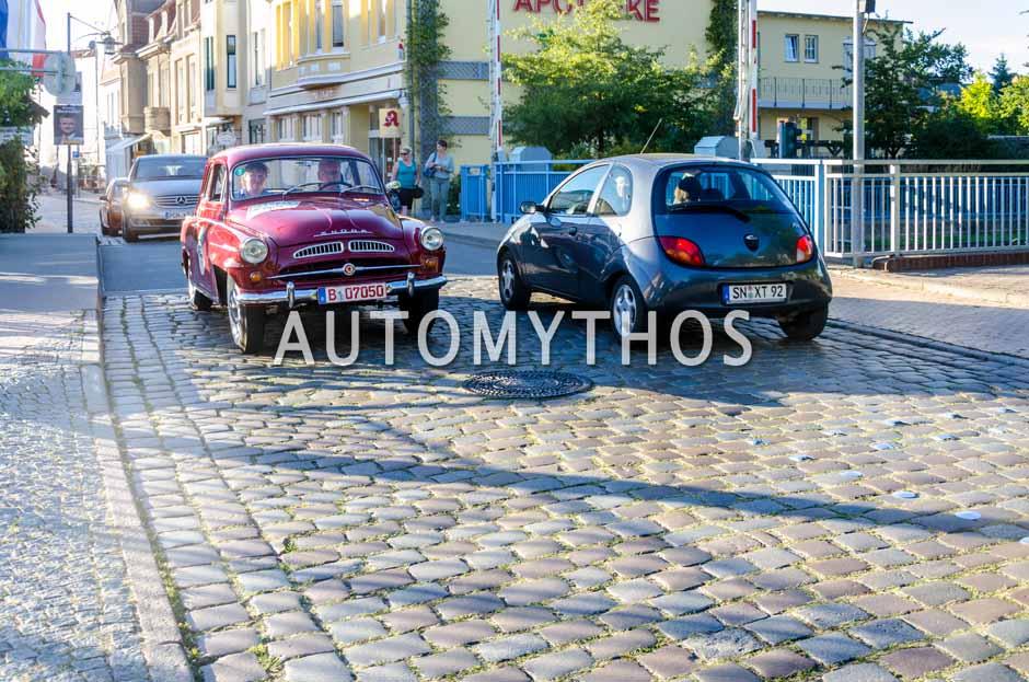 Automythos | 9. Hamburg Berlin Klassik 2016 | 55 | Steffen Strauß & Iris Strauß | Skoda Spartak 440
