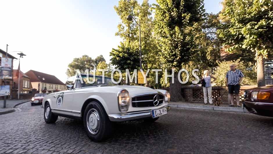 Automythos | 9. Hamburg Berlin Klassik 2016 | 56 | Jürgen Langensiepen & Andrea Langensiepen | Mercedes-Benz 250 SL
