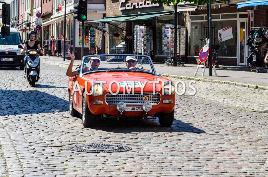Automythos | 9. Hamburg Berlin Klassik 2016 | 61 | Christoph Kleiner & Bert Christmann | Austin-Healey Sprite Mk IV