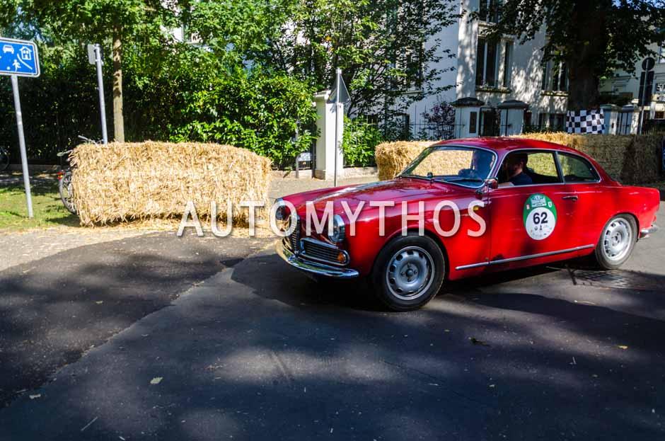 Automythos | 9. Hamburg Berlin Klassik 2016 | 62 | Joern Rompel & Maren Hoffmann | Alfa Romeo Giulietta Sprint