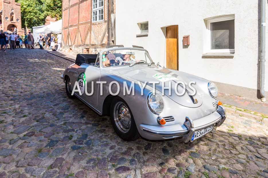 Automythos | 9. Hamburg Berlin Klassik 2016 | 63 | Daniela Eichenauer & Matthias Eichenauer | Porsche 356 B Cabriolet