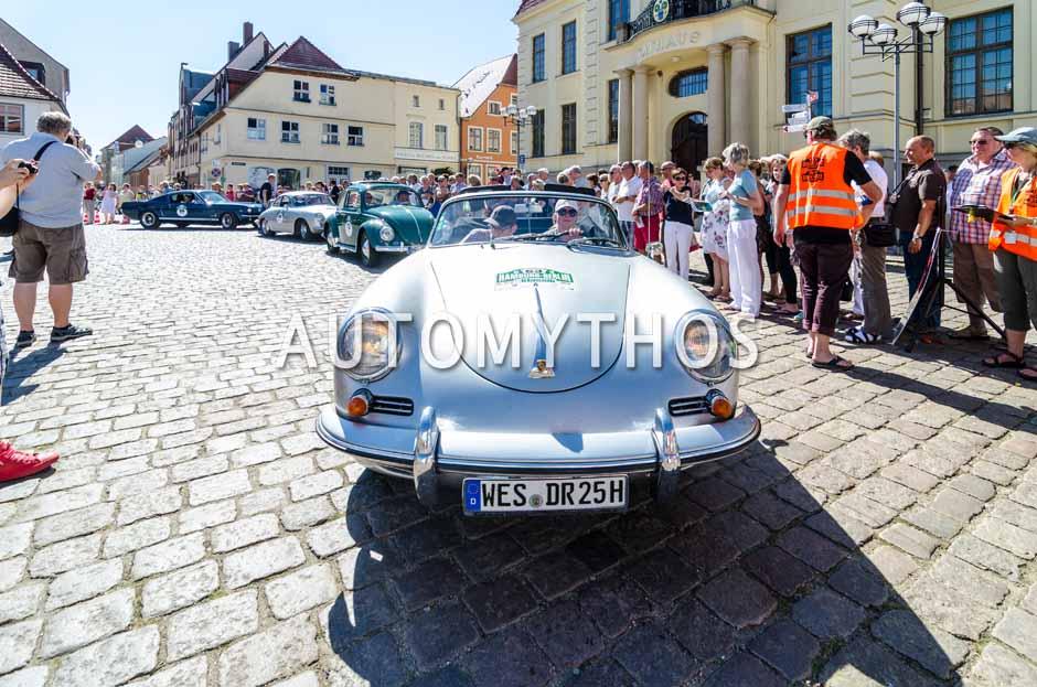 Automythos   9. Hamburg Berlin Klassik 2016   63   Daniela Eichenauer & Matthias Eichenauer   Porsche 356 B Cabriolet