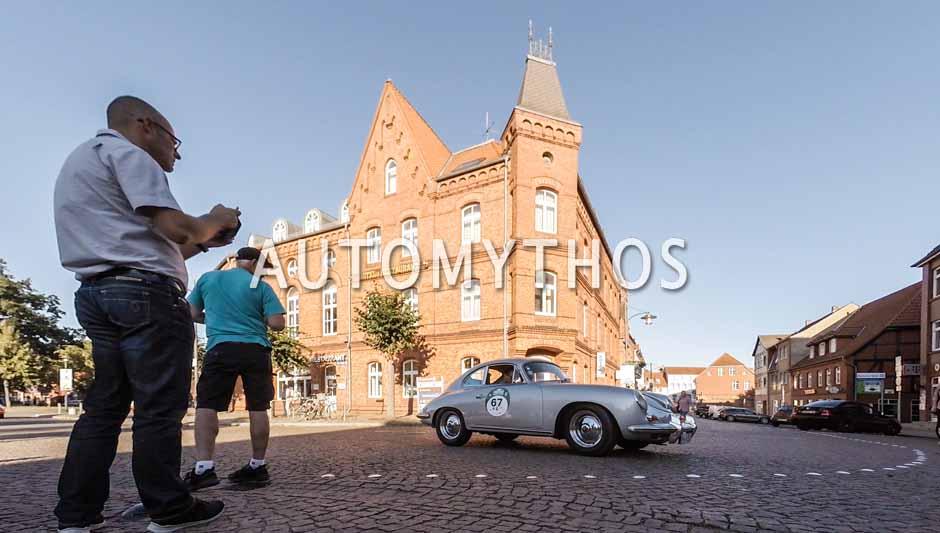 Automythos   9. Hamburg Berlin Klassik 2016   67   Rainer Penning & Janot Marleschki   Porsche 356 B Super 90