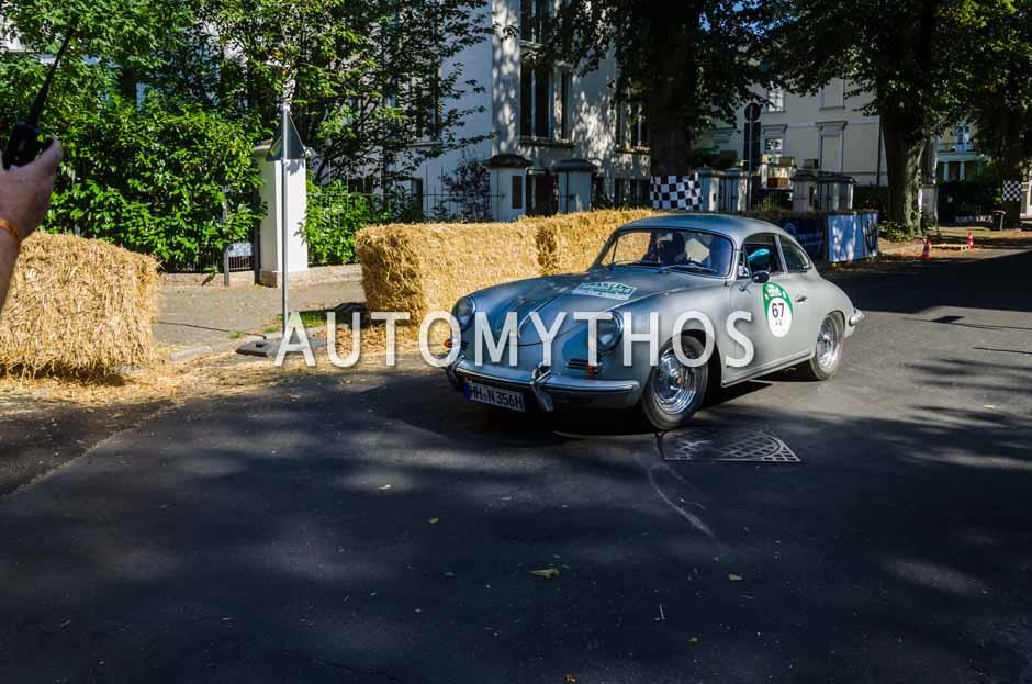 Automythos | 9. Hamburg Berlin Klassik 2016 | 67 | Rainer Penning & Janot Marleschki | Porsche 356 B Super 90