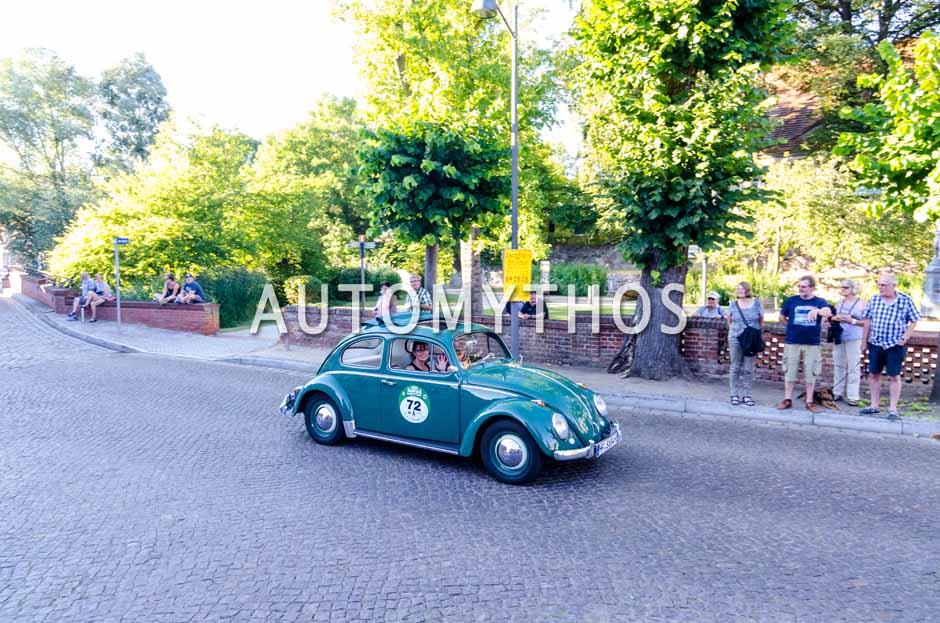 Automythos | 9. Hamburg Berlin Klassik 2016 | 72 | Hartmut Schöbel & Iris Schöbel | Volkswagen 1200