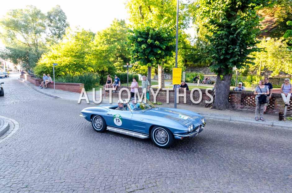 Automythos | 9. Hamburg Berlin Klassik 2016 | 73 | Dirk Lehmann & Dieter Lehmann | Chevrolet Corvette C2 Convertible