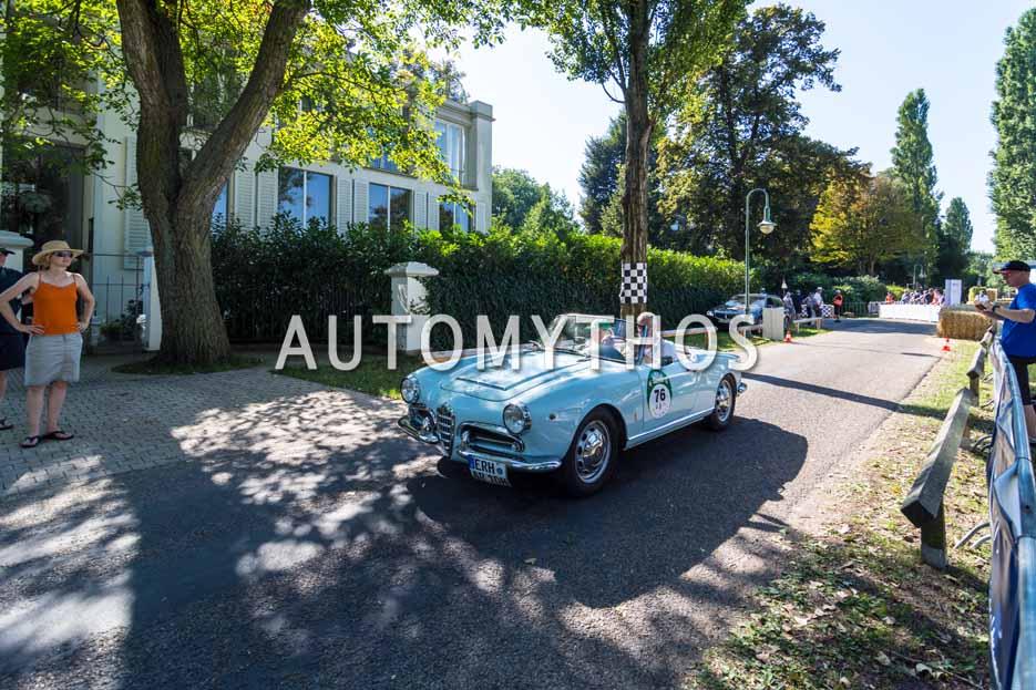 Automythos | 9. Hamburg Berlin Klassik 2016 | 76 | Jörg Walz & Ela Biegel | Alfa Romeo Giulia Spider