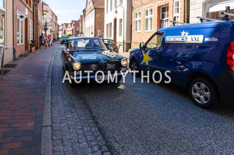 Automythos   9. Hamburg Berlin Klassik 2016   77   Thomas Bormann & Jürgen Löchel   BMW 3200 CS