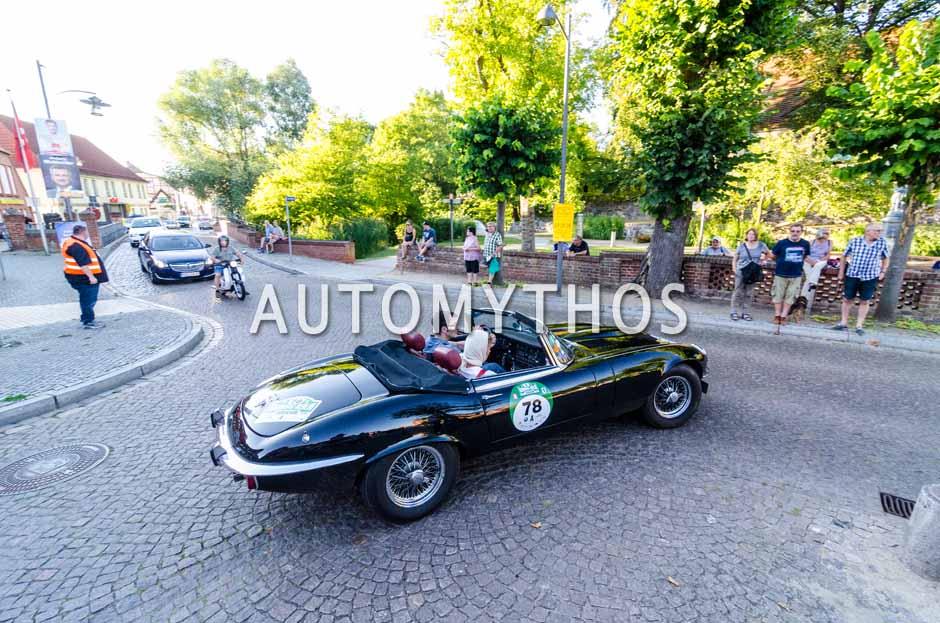 Automythos | 9. Hamburg Berlin Klassik 2016 | 78 | Kai Eckert & Kirsten Harnisch-Eckert | Jaguar E-Type Series 3