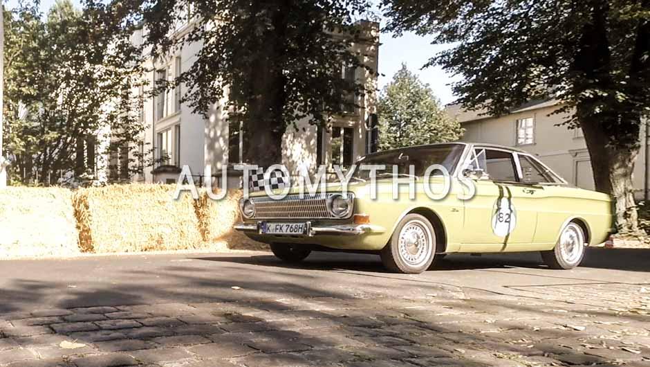 Automythos | 9. Hamburg Berlin Klassik 2016 | 82 | Gunnar Herrmann & Knut Simon | Ford Taunus 12M Coupé P6