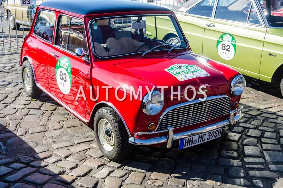 Automythos | 9. Hamburg Berlin Klassik 2016 | 83 | Dennis Horstmann & Vienna Horstmann | Austin Mini Cooper S