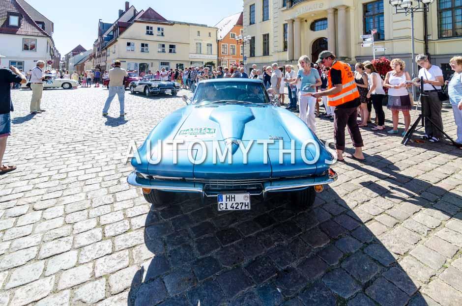 Automythos | 9. Hamburg Berlin Klassik 2016 | 84 | Heino Landsberg & Dagmar Landsberg | Chevrolet Corvette C2