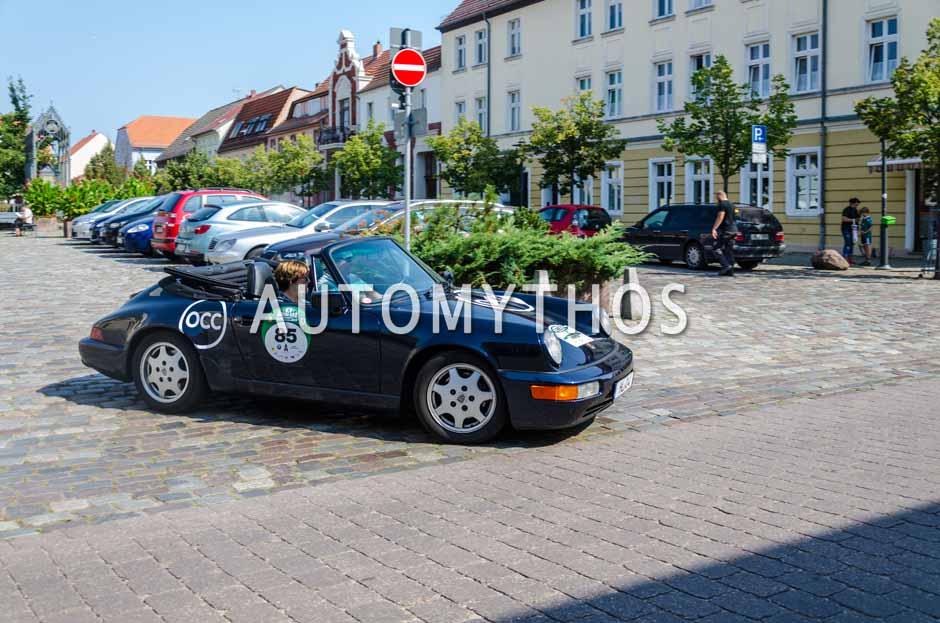 Automythos | 9. Hamburg Berlin Klassik 2016 | 85 | Carsten Möller & Uta Möller | Porsche 911 Carrera 2 Cabriolet