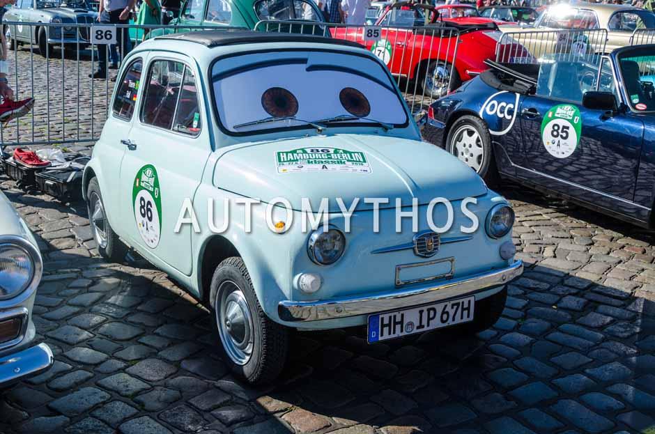 Automythos | 9. Hamburg Berlin Klassik 2016 | 86 | Thieme Hitzler & Ralf Stüdemann | Fiat 500