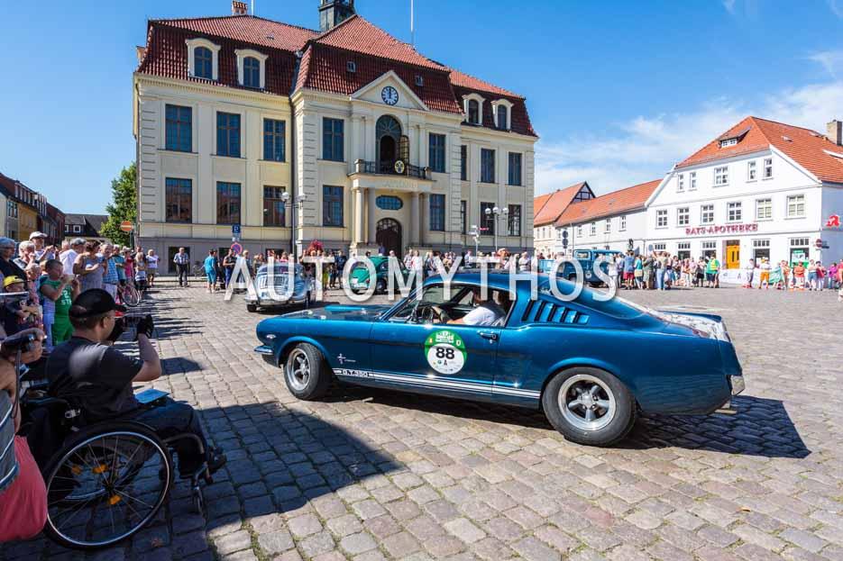 Automythos | 9. Hamburg Berlin Klassik 2016 | 88 | Sven Ehrenbrand & Britta Plümke | Ford Mustang GT Fastback