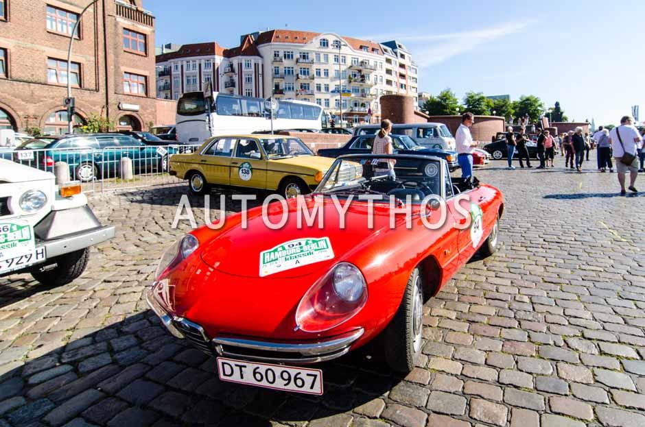 Automythos | 9. Hamburg Berlin Klassik 2016 | 94 | Peter Sejersen & Aase Sejersen | Alfa Romeo 1600 Spider