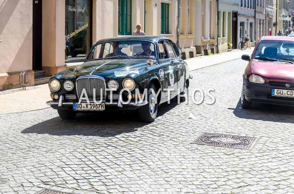 Automythos | 9. Hamburg Berlin Klassik 2016 | 96 | Marius Brune & Martin Stromberg | Jaguar 420