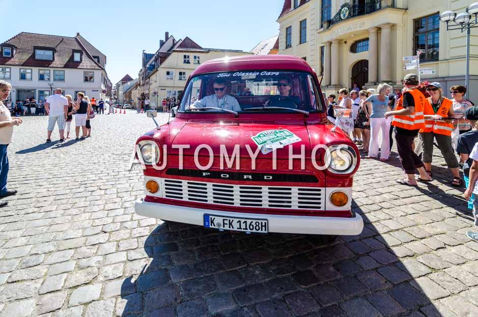 Automythos | 9. Hamburg Berlin Klassik 2016 | 100 | Roland Löwisch & Hartwig Petersen | Ford Transit Mk I