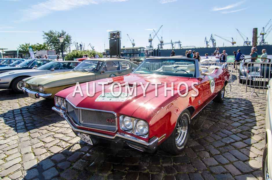 Automythos   9. Hamburg Berlin Klassik 2016   108   Uwe Schmidt & Ingrid Schmidt   Buick GS 455
