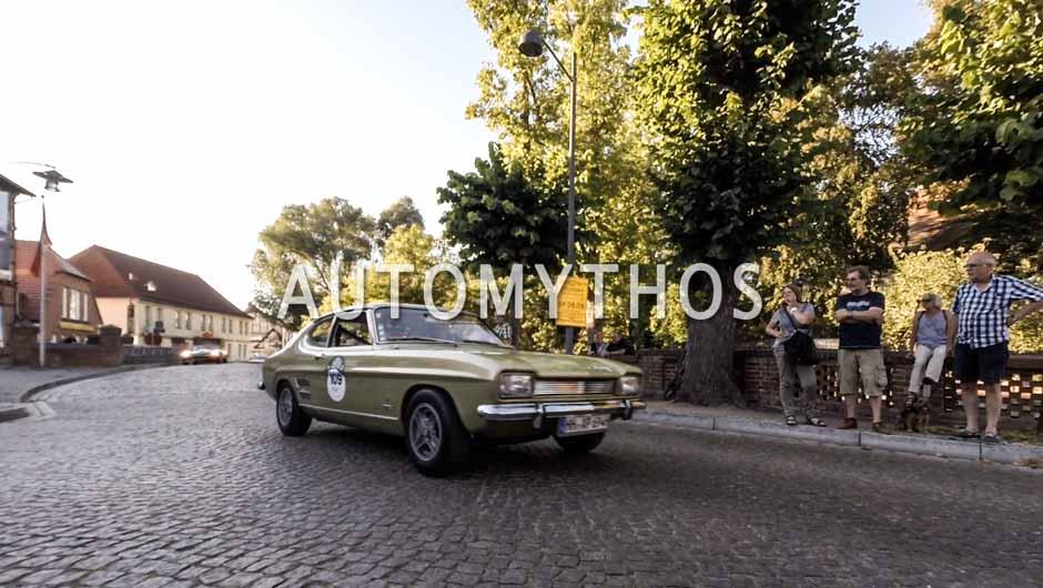 Automythos | 9. Hamburg Berlin Klassik 2016 | 109 | André Preiß & Bernd Volkens | Ford Capri 1600 GT