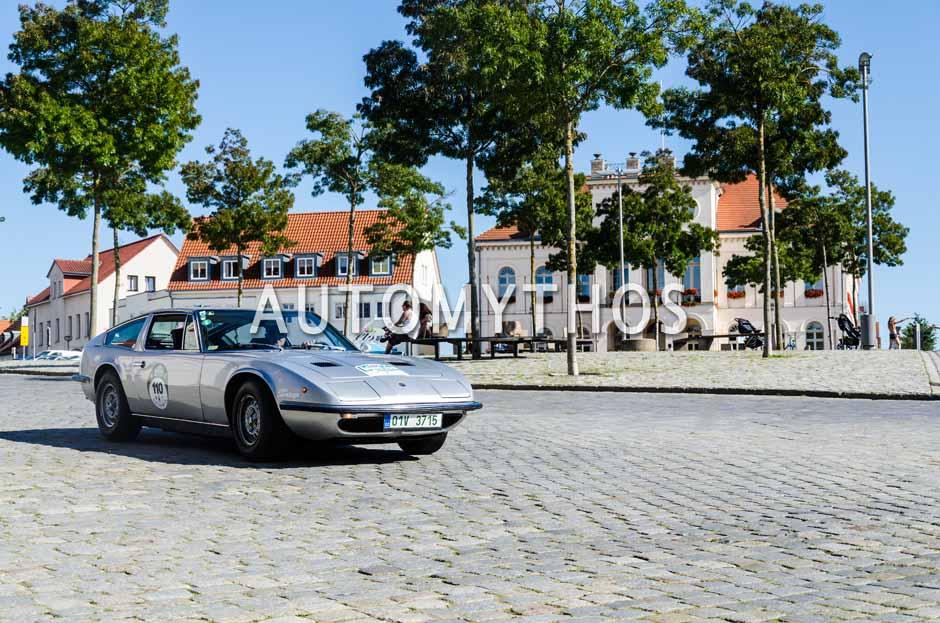 Automythos | 9. Hamburg Berlin Klassik 2016 | 110 | Petr Fiala & Soňa Nejedlá | Maserati Indy 4700
