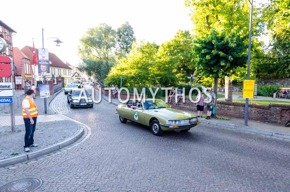 Automythos | 9. Hamburg Berlin Klassik 2016 | 115 | Manfred Postert & Susanne Postert | Citroën SM