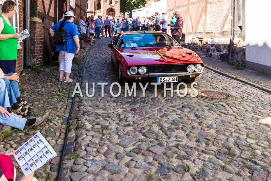 Automythos | 9. Hamburg Berlin Klassik 2016 | 117 | Kai-Uwe Matthies & Waldemar Krumpholz | Lamborghini Espada & Mercedes-Benz 500SL Cabriolet