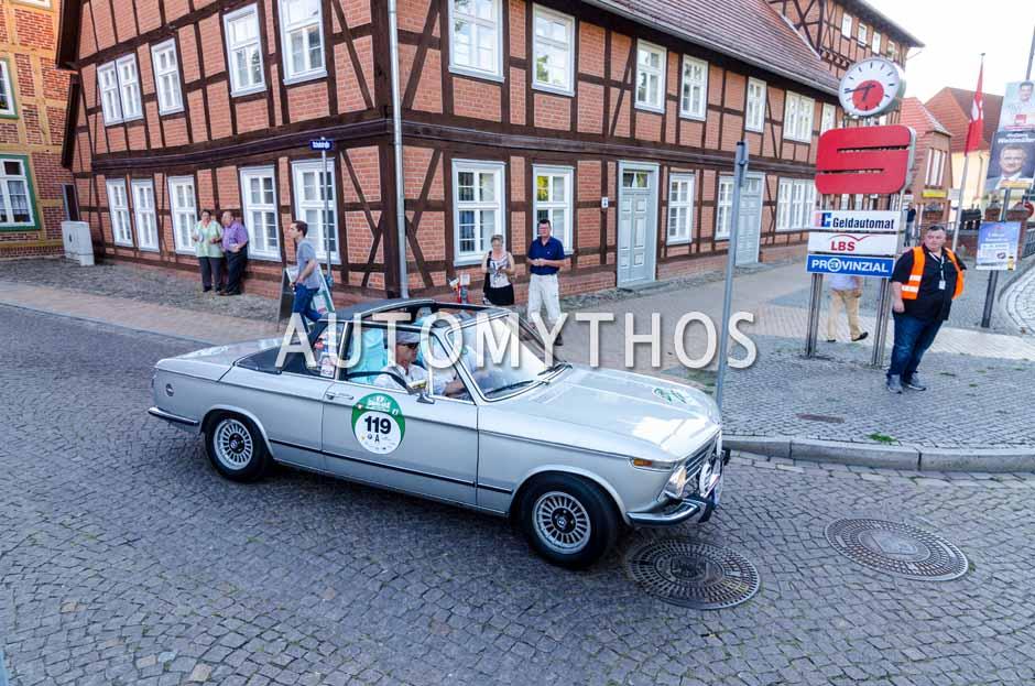 Automythos | 9. Hamburg Berlin Klassik 2016 | 119 | Stefan Wagner & Siegbert Wagner | BMW 2002 Targa