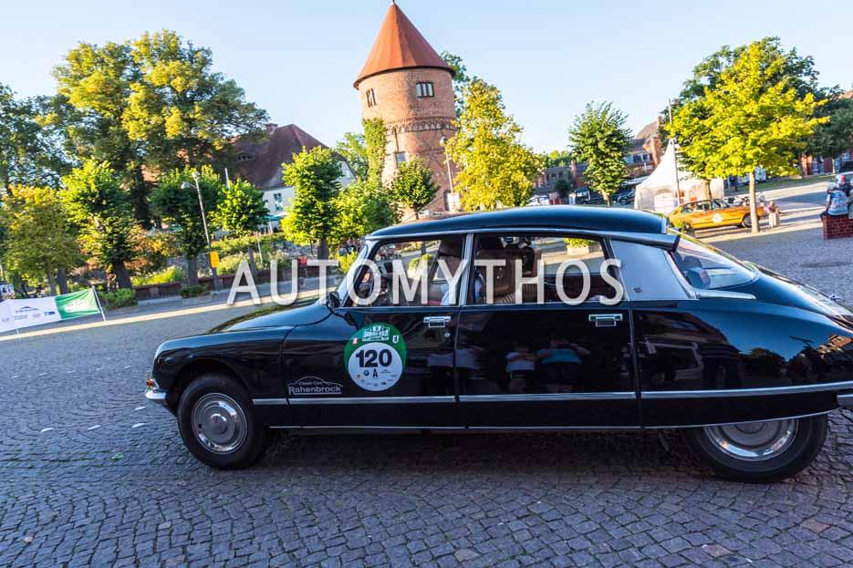 Automythos | 9. Hamburg Berlin Klassik 2016 | 120 | Ubbo Latajka & Holger Böhme | Citroën DS 21 Pallas