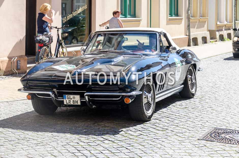 Automythos | 9. Hamburg Berlin Klassik 2016 | 132 | Lutz Runkel & Christine Runkel | Chevrolet Corvette C2 Convertible