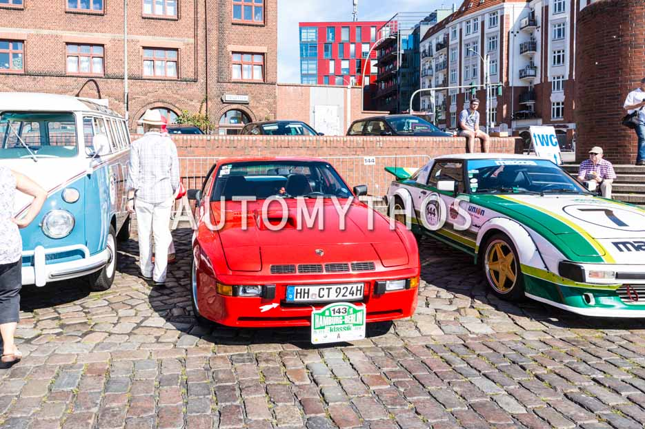 Automythos | 9. Hamburg Berlin Klassik 2016 | 143 | Michael Rasch & Nina Rasch | Porsche 924 Carrera GT & Porsche 928GTS