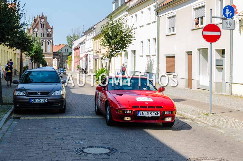 Automythos | 9. Hamburg Berlin Klassik 2016 | 148 | Otto Schröfelbauer & Silvia Riegler | Porsche 924 Turbo