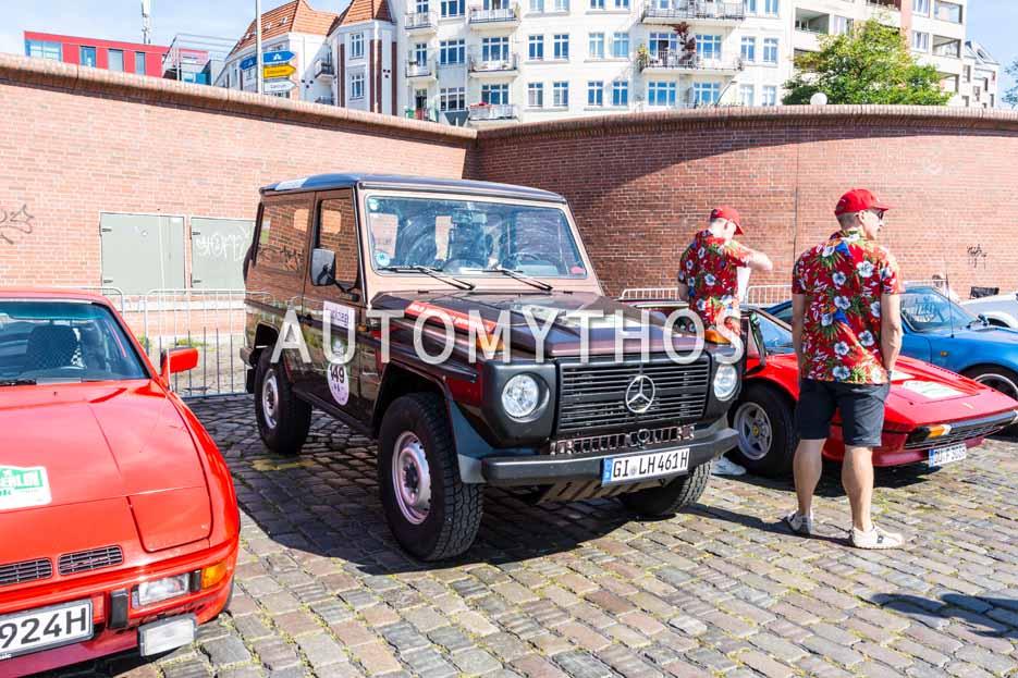 Automythos | 9. Hamburg Berlin Klassik 2016 | 149 | Reinhard Schade & Tina Gorschlüter | Steyr-Puch G-Modell 300 D