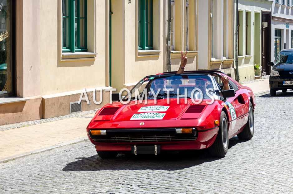 Automythos | 9. Hamburg Berlin Klassik 2016 | 150 | Günter Henseleit & Uwe Simdorn | Ferrari 308 GTSi
